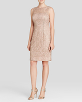 Adrianna Papell Sleeveless Illusion Lace Cocktail Dress 41889120