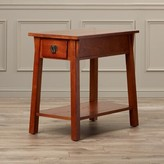 Russet Wilfredo End Table Charlton Home Color
