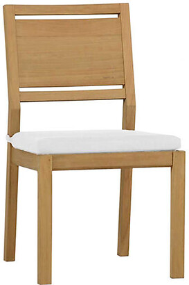 Ashland Outdoor Side Chair - Natural Teak - SUMMER CLASSICS INC