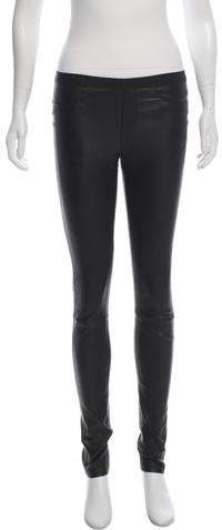 fee4c888fd0c81 Helmut Lang Leather Pants - ShopStyle