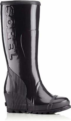 Sorel Women's Joan Rain Wedge Tall Gloss Boot