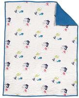 Nurseryworks Nursery Works Oceanography Organic Cotton Hand-Quilted Blanket