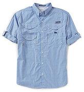 Columbia PFG Super Bonehead Classic Long-Sleeve Gingham Shirt
