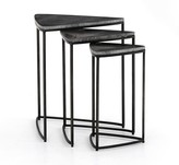 Pottery Barn Cecilia Marble Nesting End Tables