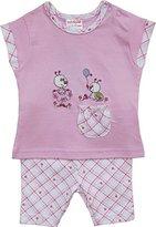 Schnizler Girl's Käferchen mit T-Shirt und kurzer Leggings Clothing Set - Pink -