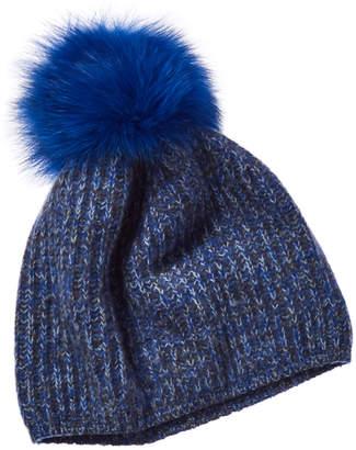 Portolano Cashmere Beanie Hat