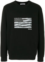 Givenchy American flag sweatshirt