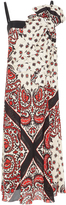 RED Valentino Bandana Print Dress With Bow