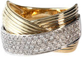 EFFY COLLECTION 14Kt. White and Yellow Gold Diamond Ring