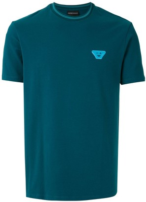 Emporio Armani logo-patch short-sleeve T-shirt
