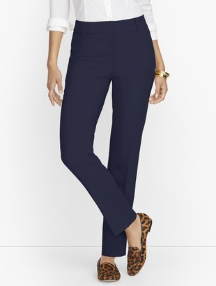 Talbots Hampshire Ankle Pants - Lightweight Double Cloth