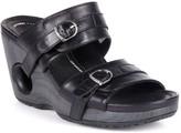 Rocky 4eursole Rocky 4EurSole Splendor Leather Women's Wedge Sandals