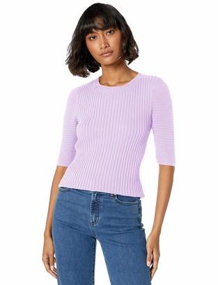 Ella Moss Women's Miranda Puff Short Sleeve Sweater