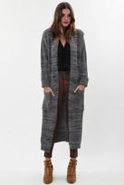 Goddis Sonia Knit Jacket In Grey Storm