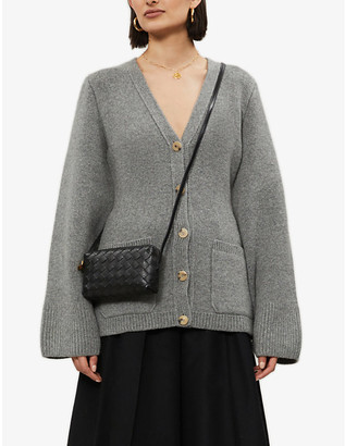 KHAITE Lucy cashmere-blend cardigan