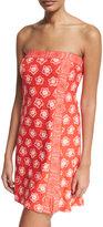 MICHAEL Michael Kors Coverup Bordered Mini Coverup Dress