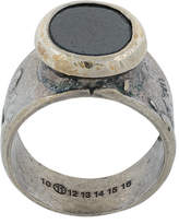 Maison Margiela oval stone ring