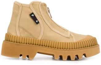 Proenza Schouler Zip-Up Ankle Boots