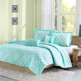 Bed Bath & Beyond Laurent Reversible Twin/Twin XL Duvet Cover Set in Teal