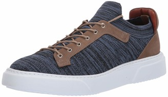 Brothers United Men's Leather Knit Lightweight Technology Fashion Sneaker