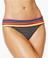 Jag Chromatic Printed Retro Hipster Bikini Bottoms