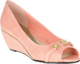 SoftStyle Women's Soft Style Adley Peep Toe Wedge