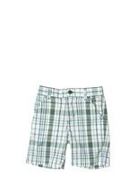 Il Gufo Cotton Poplin Checked Bermuda Shorts