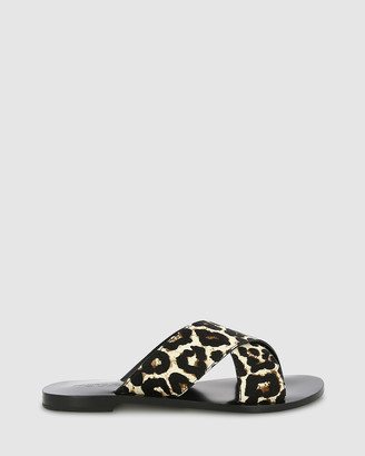 marcus b - Women's Black Sandals - Floreat Sandals - Size One Size, 38 at The Iconic