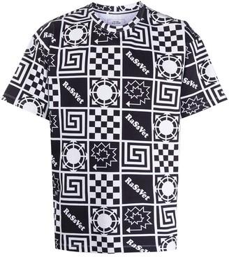 Paccbet geometric print T-shirt