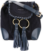 See by Chloe Polly shoulder bag - women - Cotton/Calf Leather - One Size