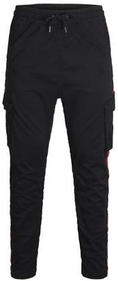 Jack and Jones Tapered Fit Cargo Cuffed Pants