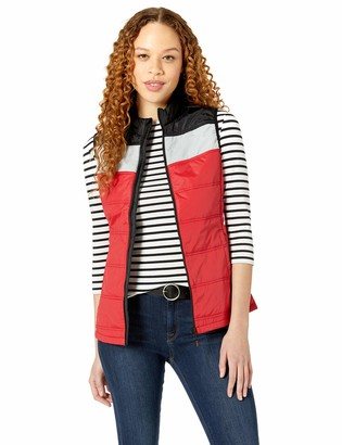 CBUK Women's Thaw Insulated Packable Wind Resistant Colorblock Vest