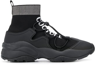 Versace Ankle Sock Sneakers