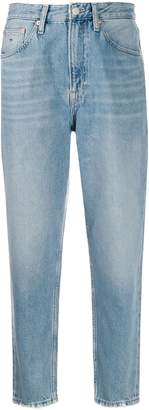 Tommy Jeans high-waisted mom-fit cropped jeans