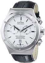 Edox Dolphin The Original Unisex Quartz Watch with Black Dial Analogue Display Quartz 10105 3 AIN