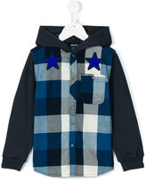 Diesel checked shirt - kids - Cotton - 6 yrs