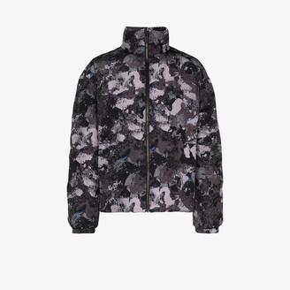 Marcelo Burlon County of Milan Padded Camouflage Jacket