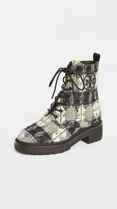 Tory Burch Miller 50mm Lug Sole Booties