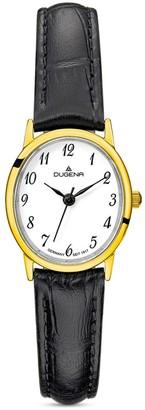 Dugena Women's Analogue Quartz Watch with Leather Strap 4460783