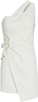 Significant Other Flores One-Shoulder Wrap Dress