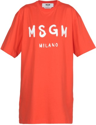 MSGM Cotton Dress