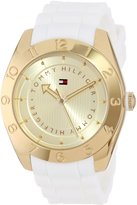 Tommy Hilfiger Women's 1781354 Cool Sport -Plated Numbered Bezel Watch