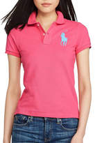 Polo Ralph Lauren Big Pp Polo Logo Basic Mesh Polo T-Shirt