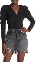 ASTR the Label V-Neck Long Sleeve Bodysuit
