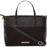Dorothy Perkins Womens **Lily & Franc Black Structured Mini Tote Bag- Black