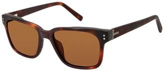 Ted Baker 54mm Acetate Square Polarized Sunglasses