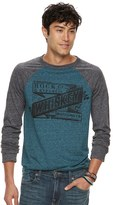 Rock & Republic Men's Whiskey Raglan Tee