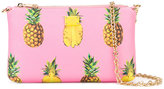 Dolce & Gabbana mini pineapple print shoulder bag - women - Leather - One Size