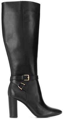 Lauren Ralph Lauren pointed toe knee length boots