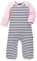 Toobydoo Audrey Striped Jumpsuit (Baby Girls)